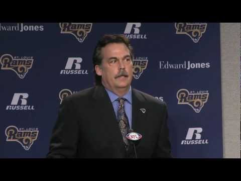 Jeff Fisher Introduced as Rams Coach - 101ESPN