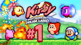 Level 1: Vegetable Valley (2 Player) - Kirby: Nightmare in Dream Land #1
