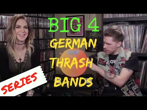 The Big Four German Thrash Bands: Our List + Collection Highlights