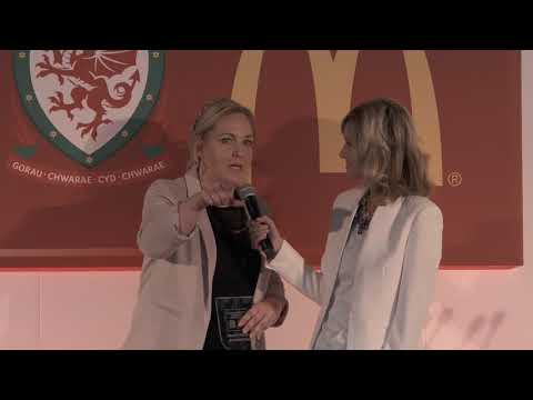 Welsh Football Mum of the Year Stephanie Seer