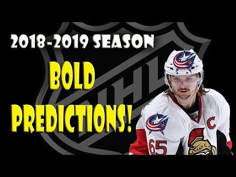 3 Bold Predictions For The 2018-2019 NHL Season