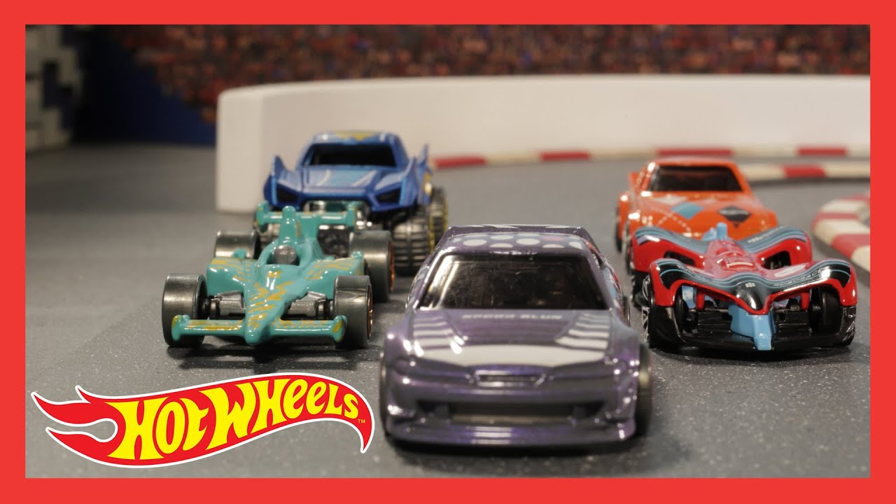 HW SPEED BLUR™ in BLURRING THE COMPETITION | @Hot Wheels