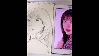 연필 드로잉-인물그리기/ 배우 조수민(Josumin)님…