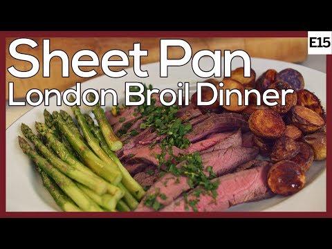 London Broil In Oven: Complete Fancy Steak Dinner In One Pan