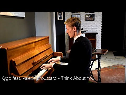 Kygo Feat. Valerie Broussard - Think About You (Piano Cover) [HD]