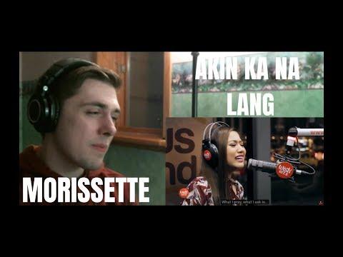 Morissette - Akin Ka Na Lang (LIVE on Wish 107.5 Bus) Reaction (BEAUTIFUL)