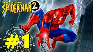 Spider-Man 2: Enter Electro (PS1) walkthrough part 1