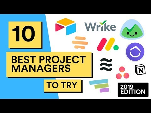 10 Best Project Managers for Teams in 2019