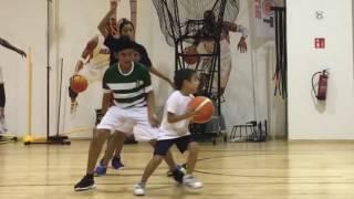 Shot Zone Basketball Practice 18 Dec 2016
