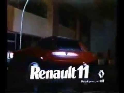 Publicité Renault 11 Turbo 5 Portes!