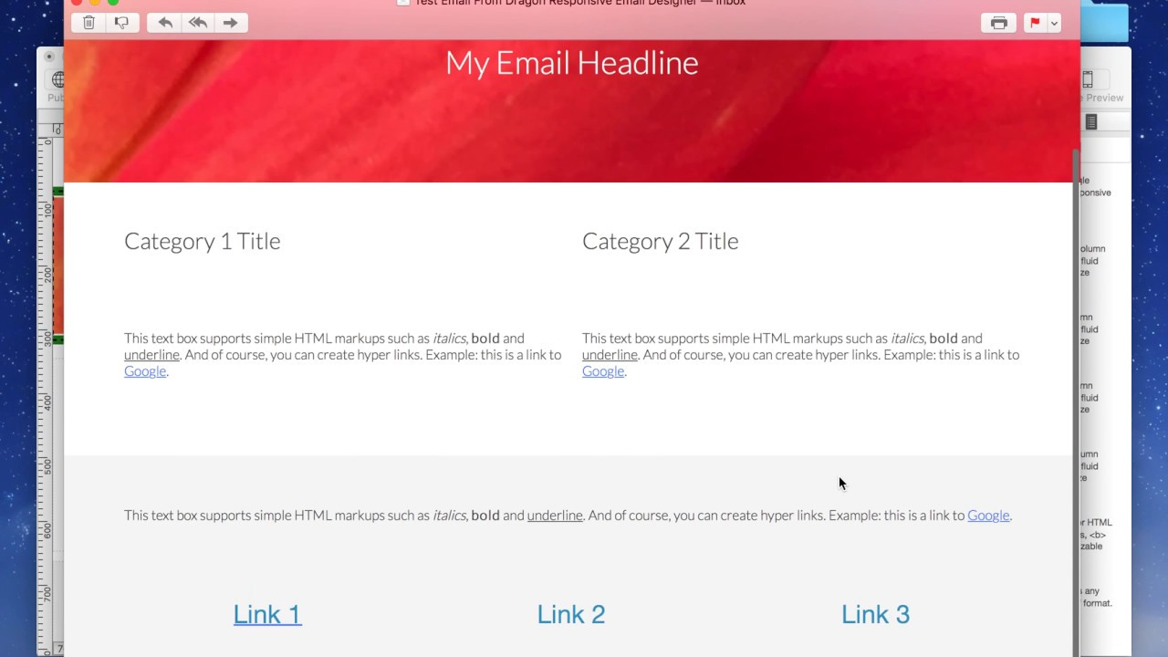 How To Create A Mobile Friendly Responsive Email Template From - Mobile friendly email templates
