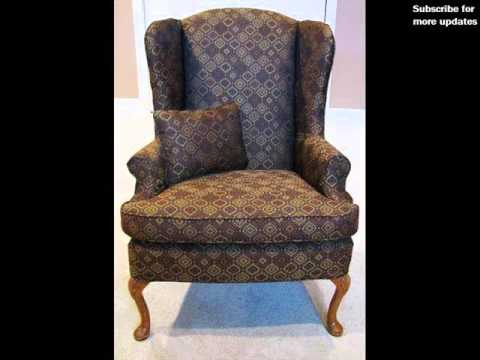 Wing Chair Slipcover Collection