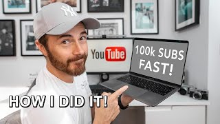 10 TIPS for Gaining 100k Subscribers in 18 MONTHS!