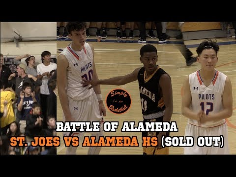 St. Joseph Notre Dame vs Alameda HS I Battle for Alameda Ft. Anthony Yu, Andre Smith, and Cameron Ba