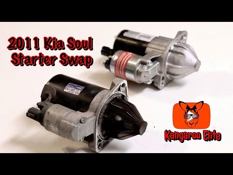 How to Replace a Starter in a 2011 Kia Soul