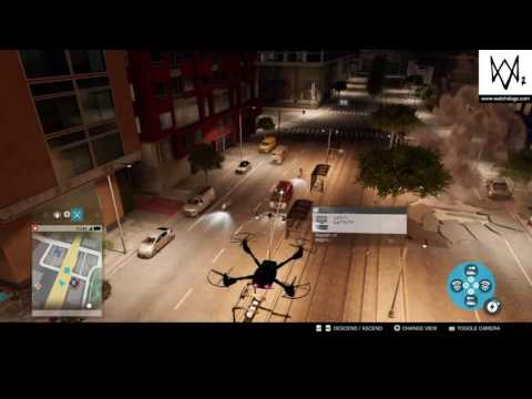 watch dogs 2 free roam drone hacking