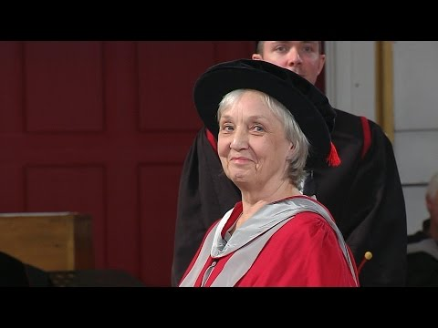 Anne Fine OBE - Honorary Degree - University of Leicester