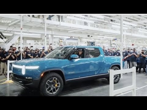 Startup Rivian Builds its First Electric Pickup for Customers, Beating ...