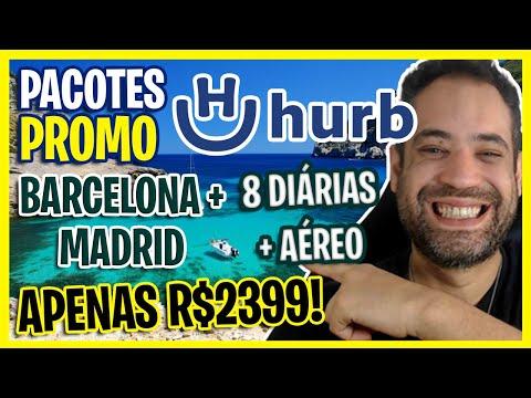 PROMO RELÂMPAGO! MADRID + BARCELONA 8 DIÁRIAS + AÉREO R$2399!
