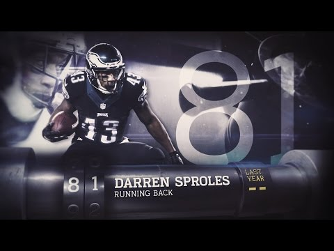 #81 Darren Sproles (RB, Eagles) | Top 100 Players of 2015