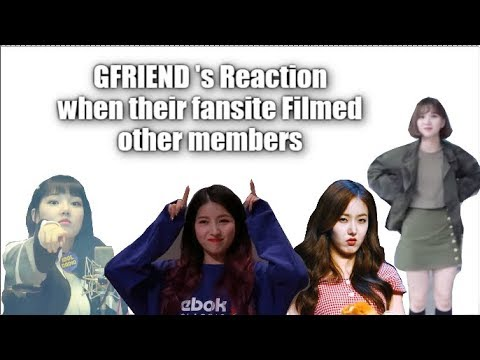 GFRIEND Reaction When their Fansite Filmed other Members