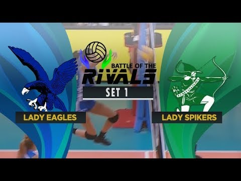 ADMU vs. DLSU | Full Game | 1st Set | Battle of the Rivals