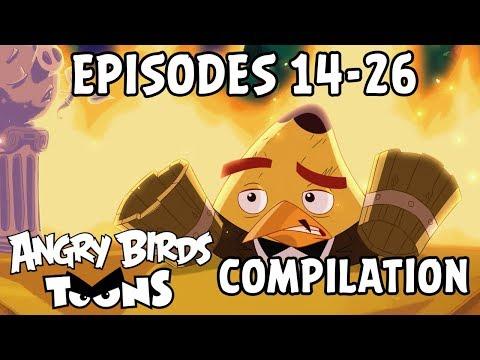 Angry Birds Toons Compilation | Season 2 Mashup | Ep14-26