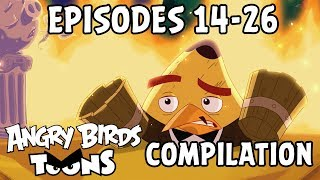 Angry Birds Toons Compilation | Season 2 Mashup | Ep14-26