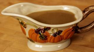 Homemade Gravy Recipe - Great for Thanksgiving! - Laura Vitale - Laura in the Kitchen Episode 238