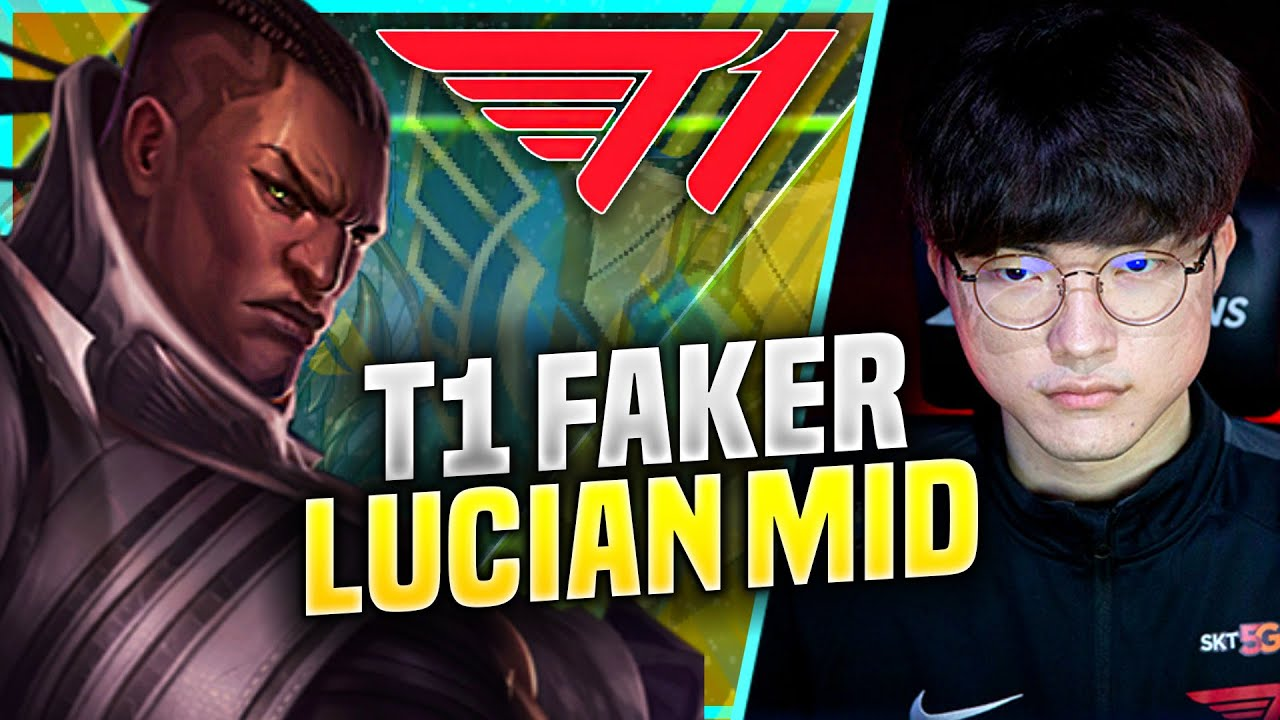FAKER TRYHARD WITH LUCIAN BUT... - T1 Faker Plays Lucian Mid vs Ornn! | KR SoloQ Patch 10.21