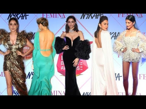 Many Gorgeous Actresses Grand Enters At Nykaa Femina Beauty Awards 2020 | Deepika,Anushka,Rakul