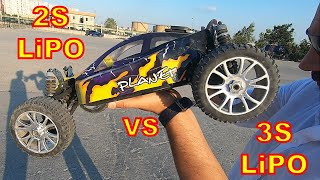 1/8 Scale Brushless RC Car - TOP SPEED TEST