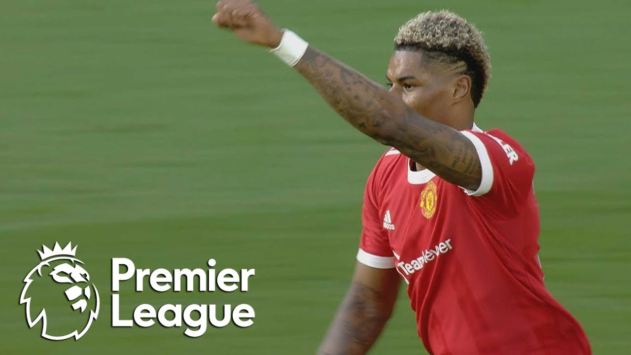 Download Marcus Rashford slams in Manchester United equalizer v. Leicester City | Premier League | NBC Sports