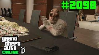 GTA 5 ONLINE Bewerbungsgespräch mit dem Dinomann #2098 Let`s Play GTA V Online PS4 2K