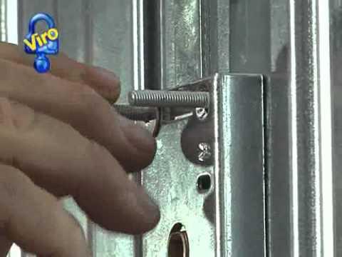 Bombin cerradura puerta garaje