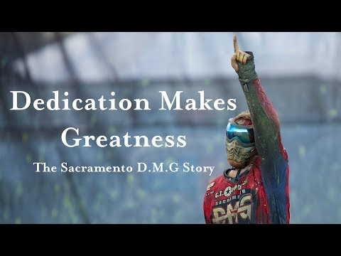 World Cup Paintball: Dedication Makes Greatness (DMG)