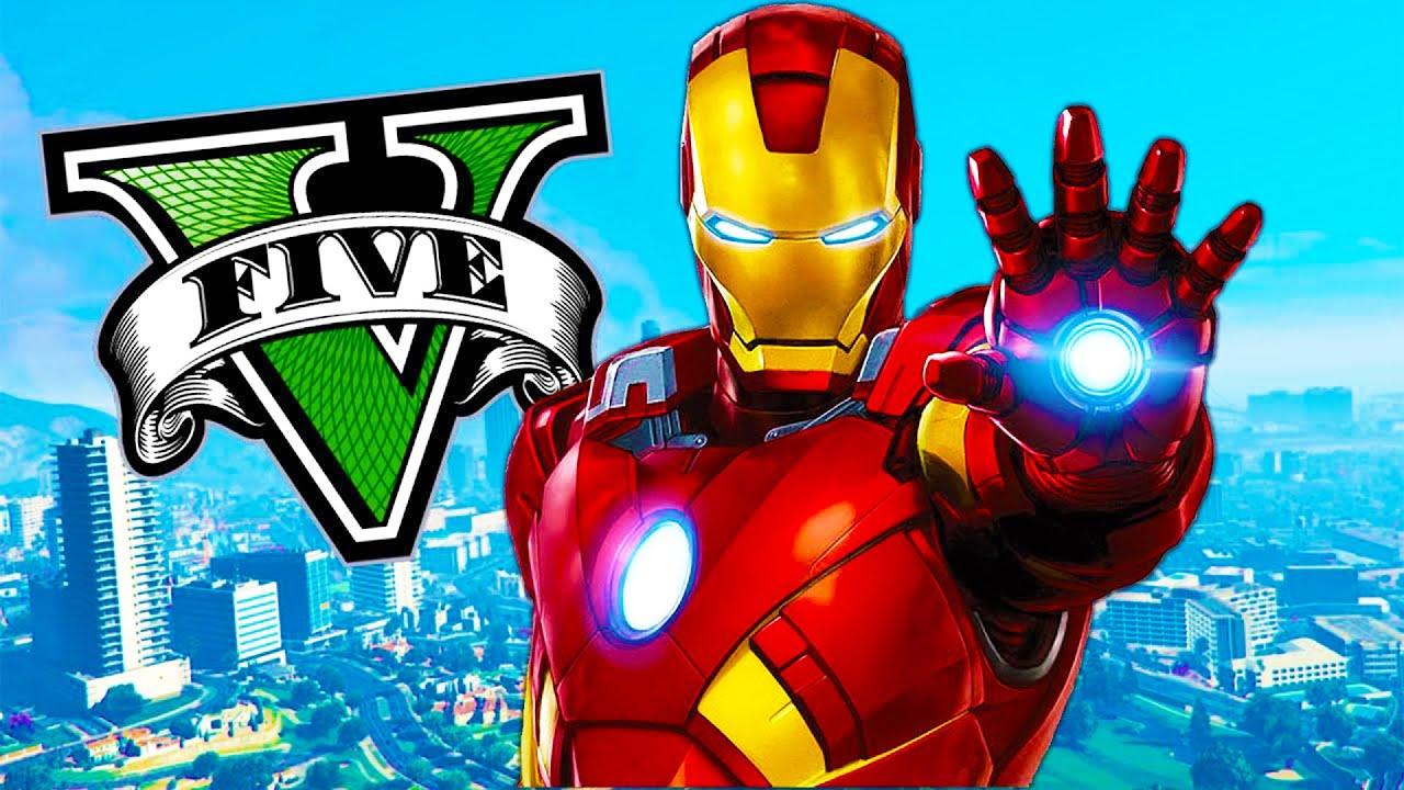 Download Soy IRON MAN en GTA 5!! Grand Theft Auto V - GTA V Mods