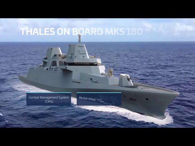 Thales Aboard German Navy's Future MKS 180 Frigates