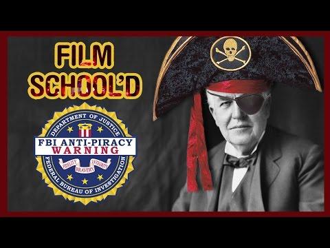 Did Thomas Edison Invent Film Piracy?!? - Film School'D