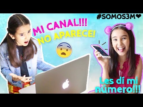 ¡Desapareció mi canal! / Les dí mi número de celular / #SOMOS3MILLONES - Gibby :)