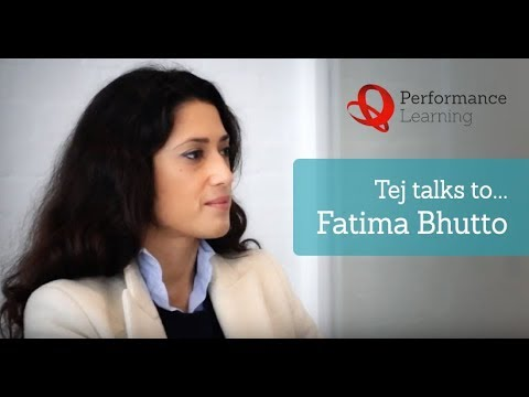 Tej talks to Fatima Bhutto