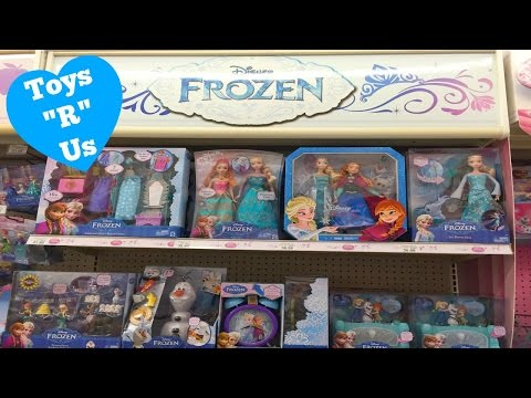 Toy Hunt For Disney Frozen Toys At ToysRUs