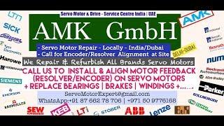 AMK Heidenhain Sick Stegmann Encoder Memory Align Resolver Adjust -Repair Dubai UAE Saudi