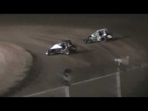 USAC West Coast Sprint Car crash @ Ocean Speedway 8/12/16