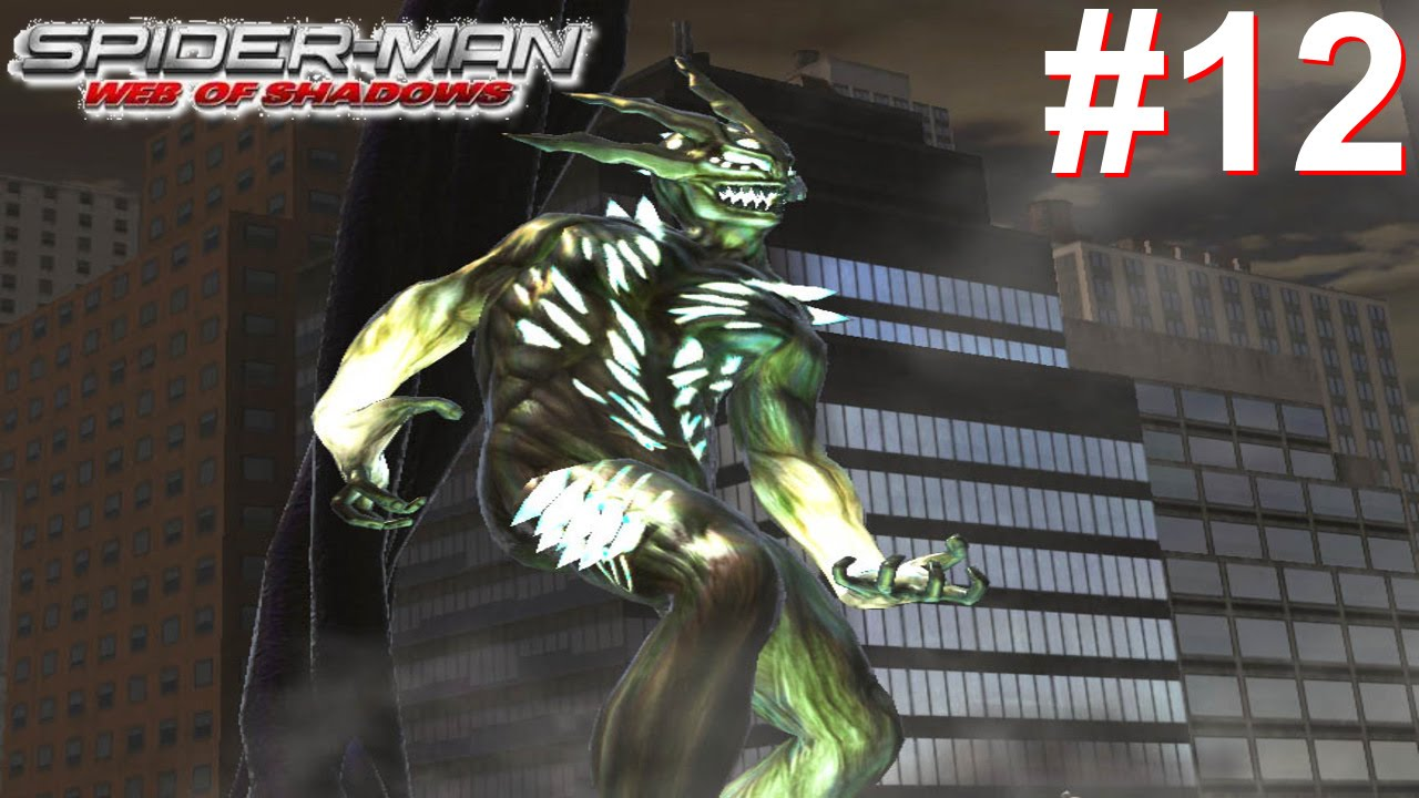 Spider-Man Web Of Shadows Gameplay #12 [Spidey vs Symbiote ...