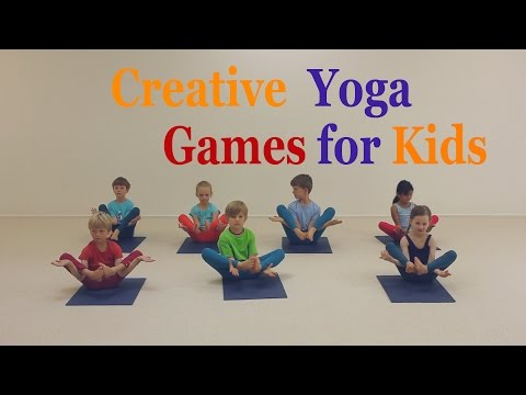 Creative Yoga Games for Kids - The pond