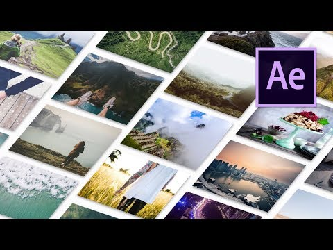Build an isometric photo gallery in After Effects – After Effects CC Tutorial