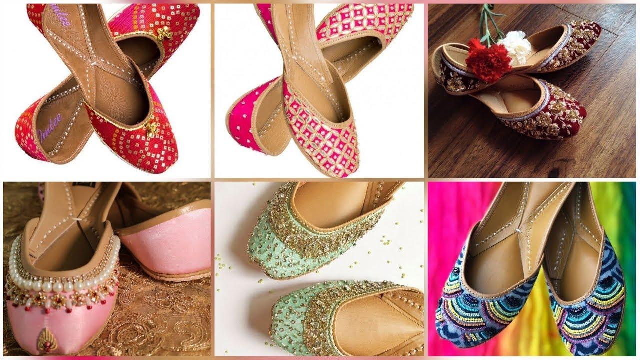 Fabulous Punjabi Juti Designs For Girls