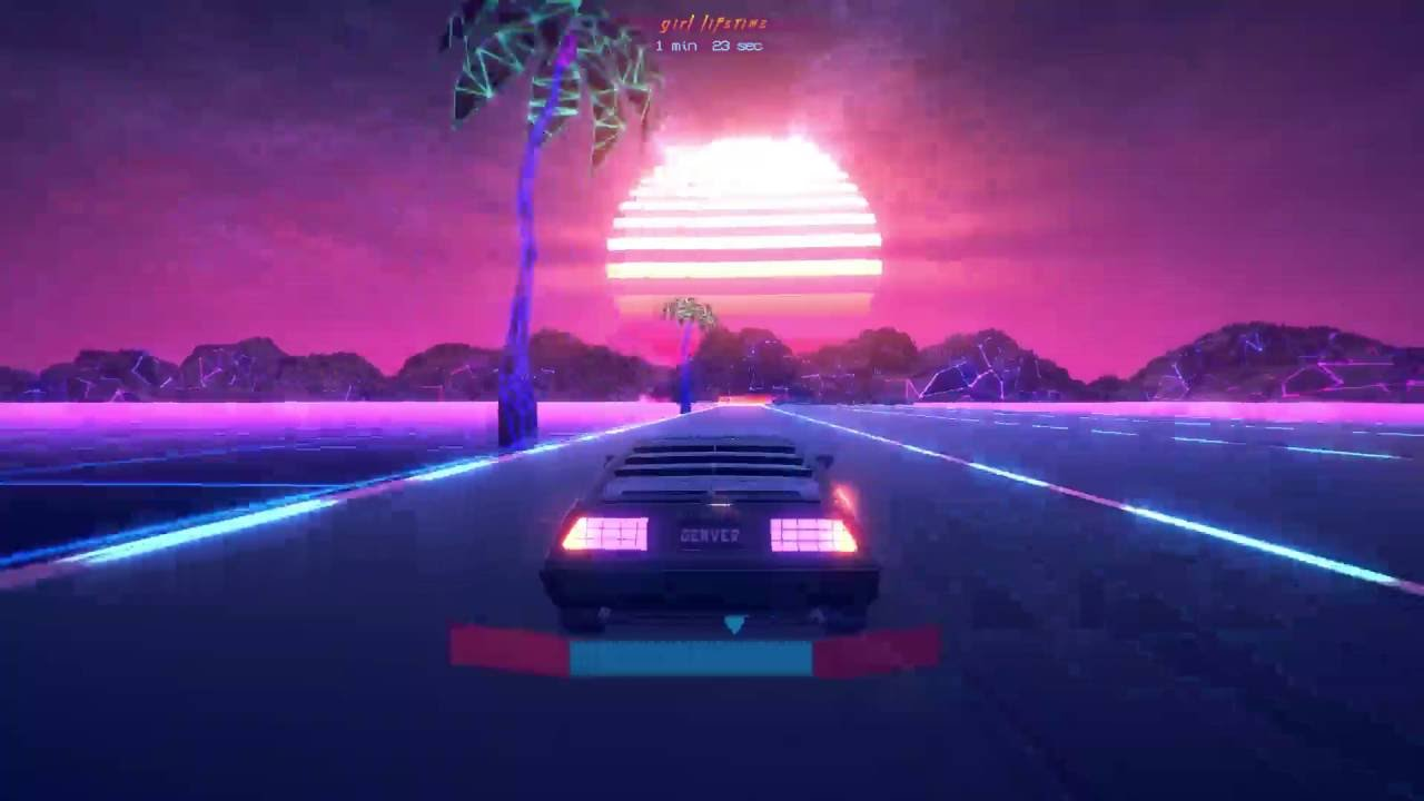 Game Where You Race A Car By A Song