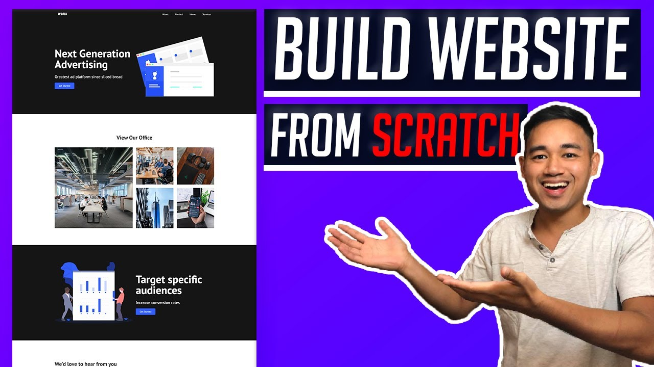 How to Make a Website from Scratch using Webflow